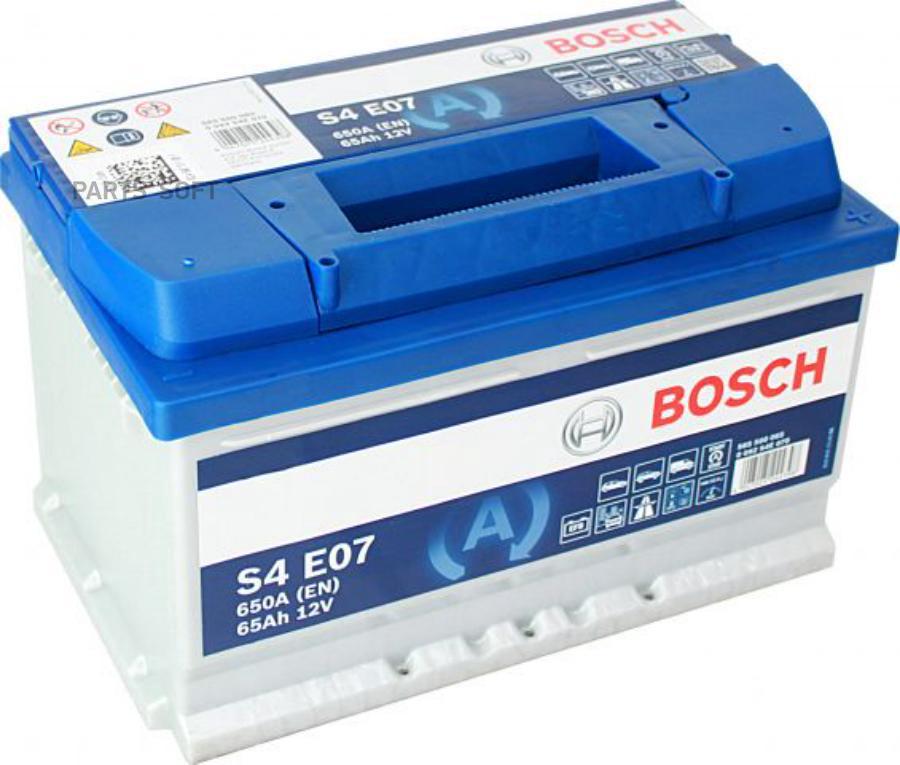 Аккумуляторная батарея Start/Stop EFB