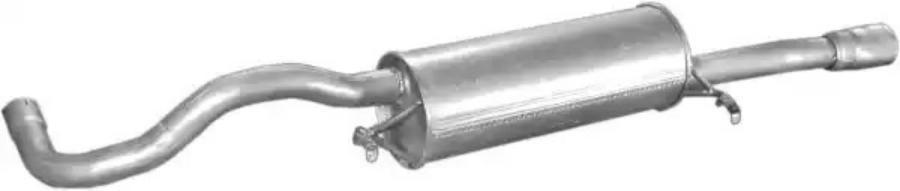 Глушитель выхлопных газов конечный