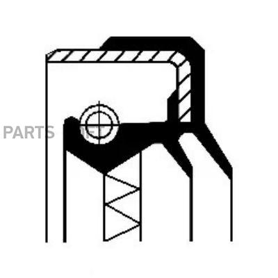 Уплотняющее кольцо, дифференциал; Уплотняющее кольцо, раздаточная коробка