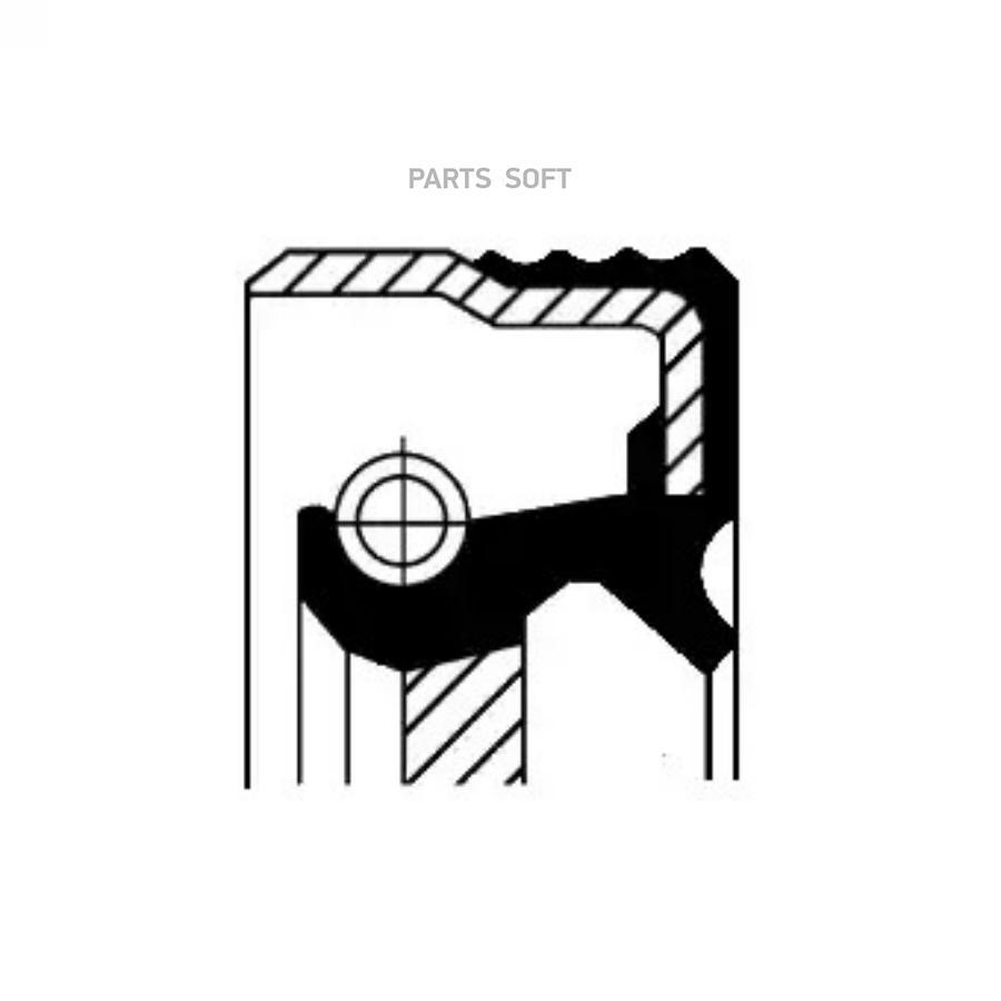 Уплотнительное кольцо вала, насос гидроусилителя