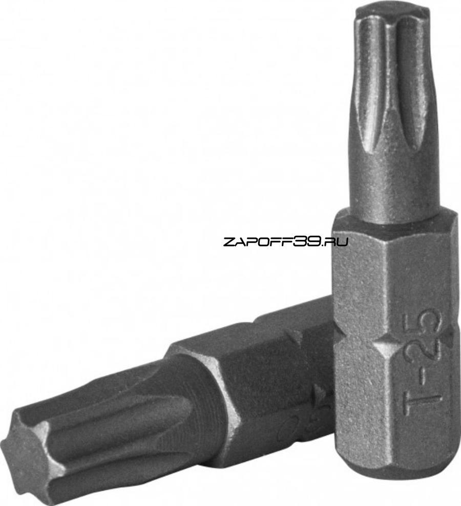 """Вставка-бита 1/4""""DRx25 мм TORX T 27"""