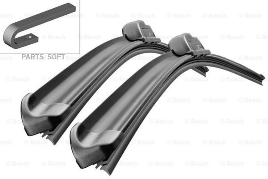 Щетки стеклоочистителя Bosch Aero Twin 2 шт. для VW Polo седан 3397118907