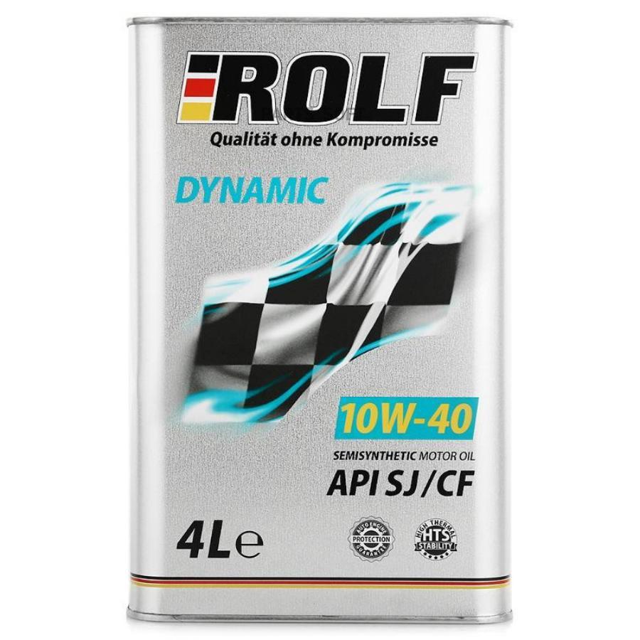 Масло моторное полусинтетическое Dynamic 10W-40, 4л