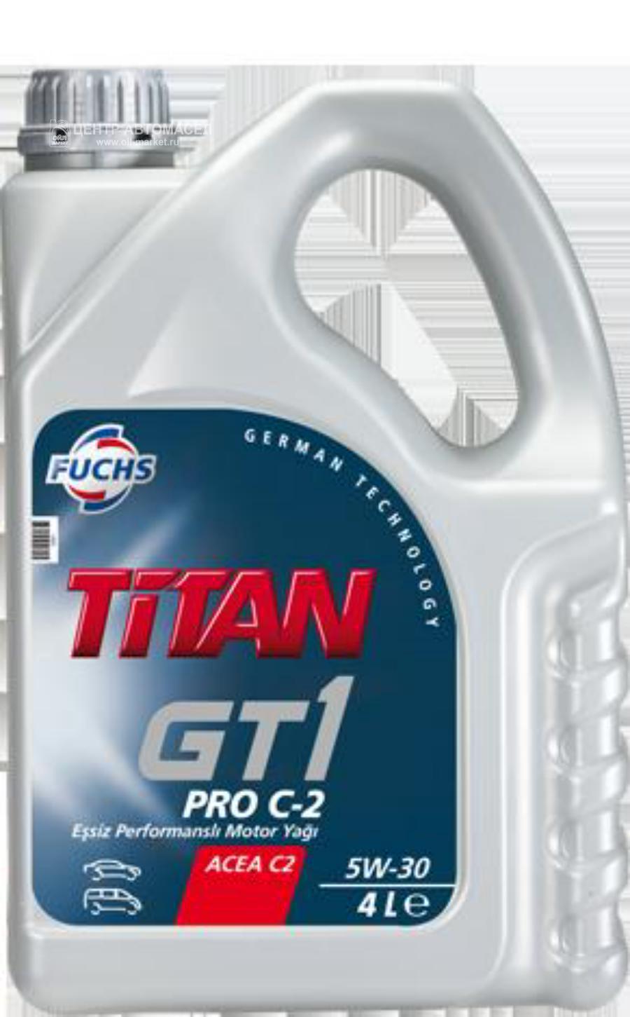 Масло моторное синтетическое TITAN GT1 PRO C-2 5W-30, 4л