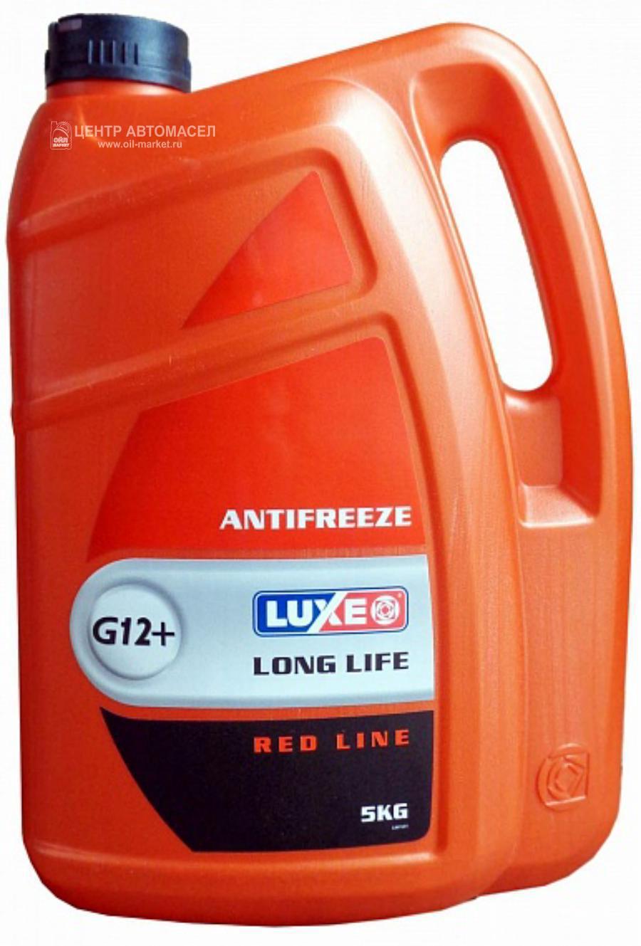 Антифриз RED LINE красный 5л