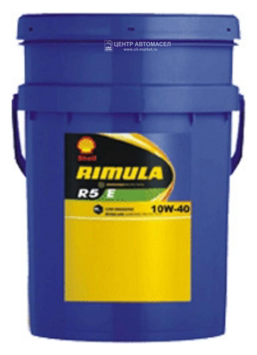 Масло моторное полусинтетическое Rimula R5 E 10W-40, 20л