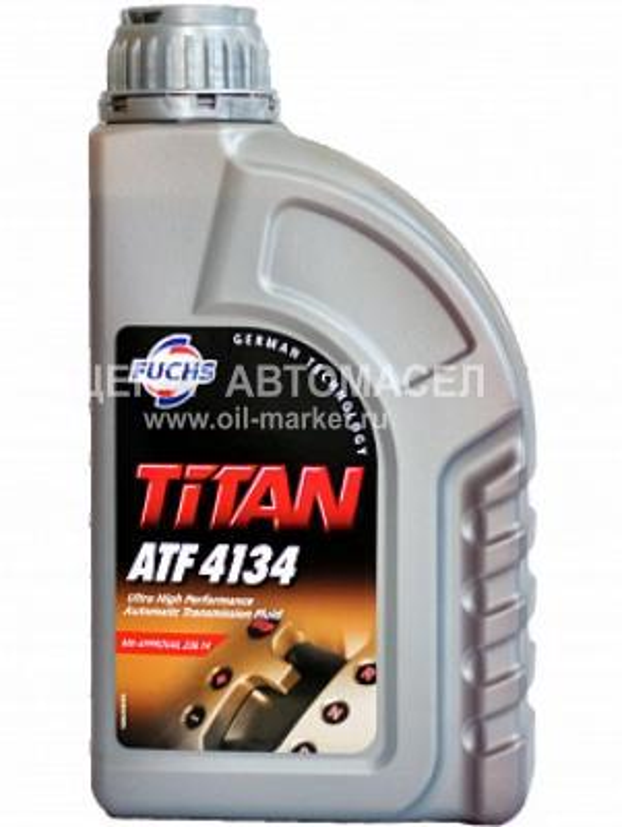Масло трансмиссионное синтетическое TITAN ATF 4134, 1л
