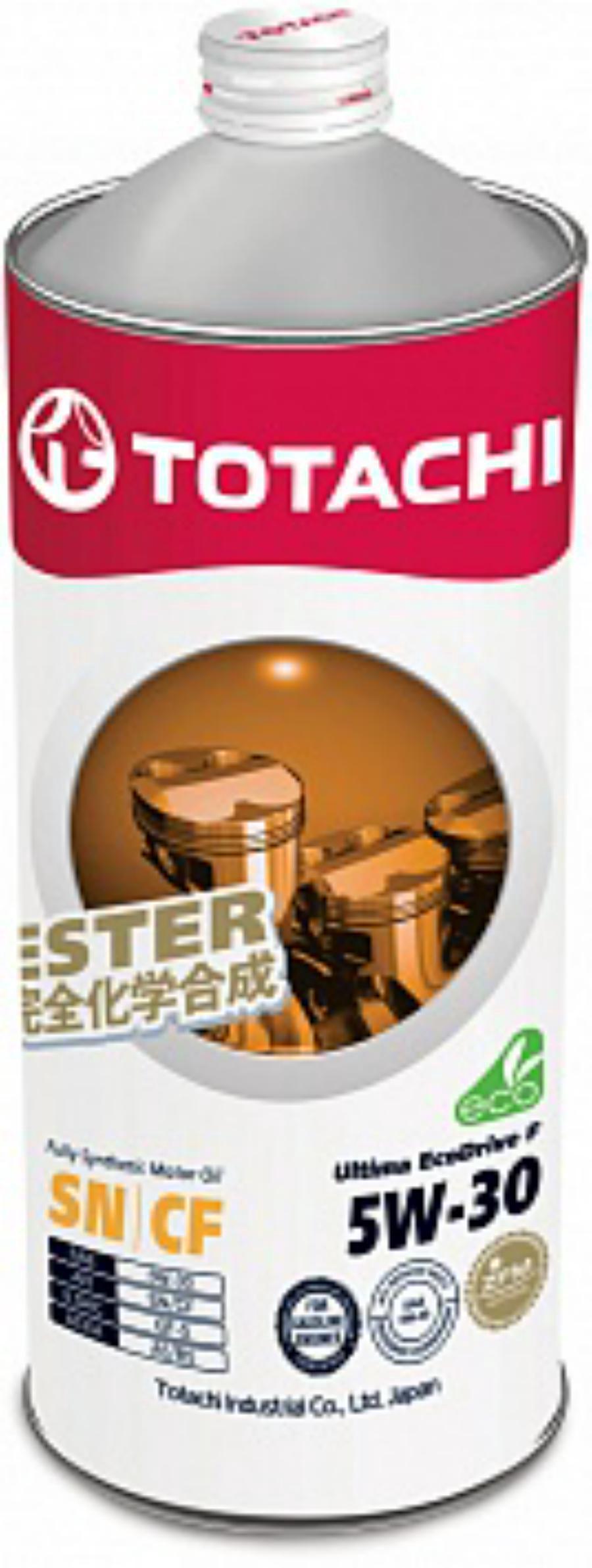 Масло моторное синтетическое Ultima EcoDrive F 5W-30, 1л