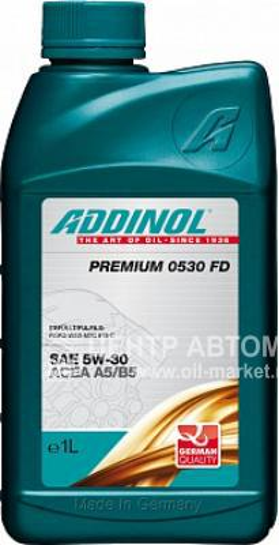 Масло моторное синтетическое Premium 0530 FD 5W-30, 1л