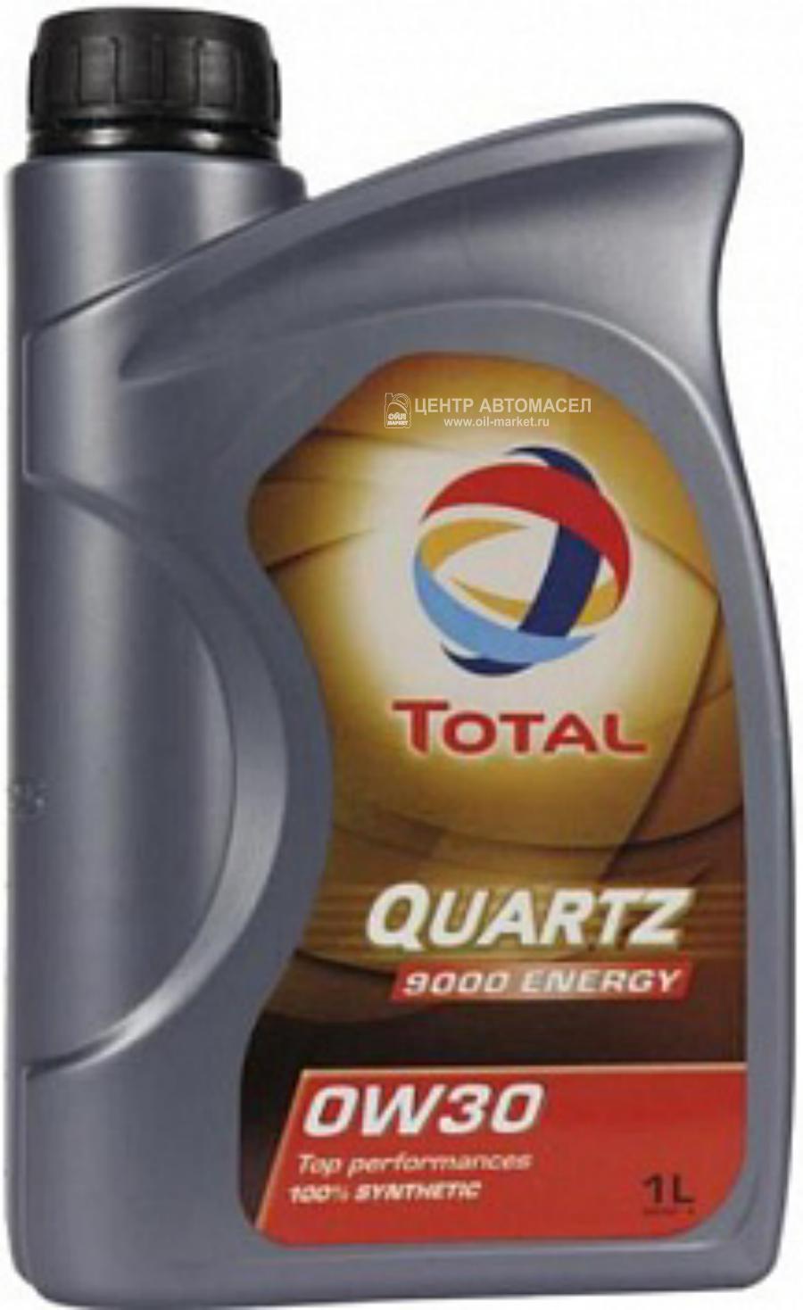 Масло моторное синтетическое QUARTZ 9000 ENERGY 0W-30, 1л