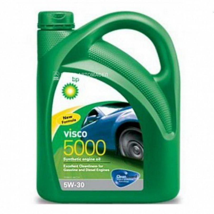 Масло моторное синтетическое Visco 5000 5W-30, 4л