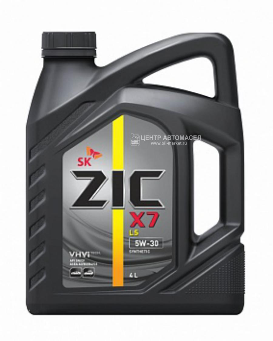 Масло моторное синтетическое X7 LS 5W-30, 4л