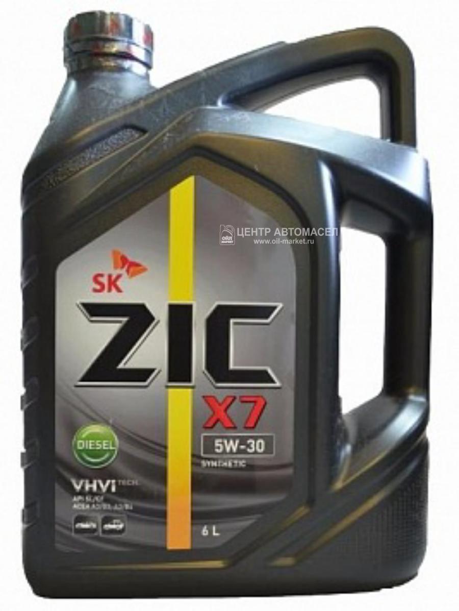 Масло моторное синтетическое X7 Diesel 5W-30, 6л