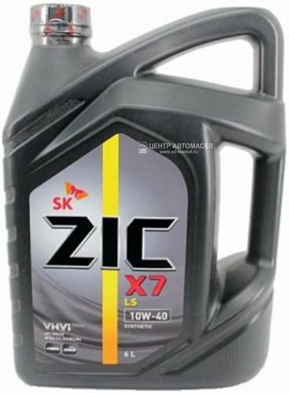 Масло моторное синтетическое X7 LS 10W-40, 6л