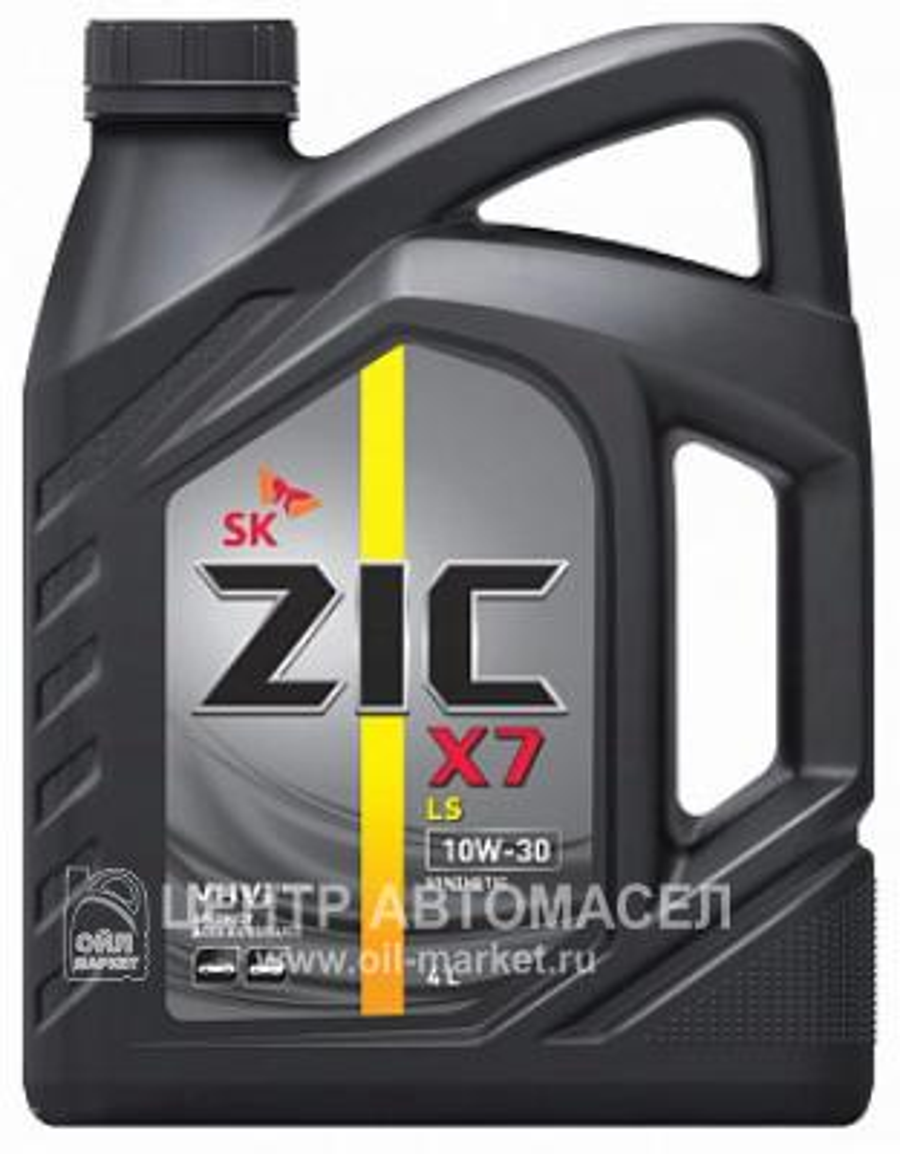 Масло моторное синтетическое X7 LS 10W-30, 4л