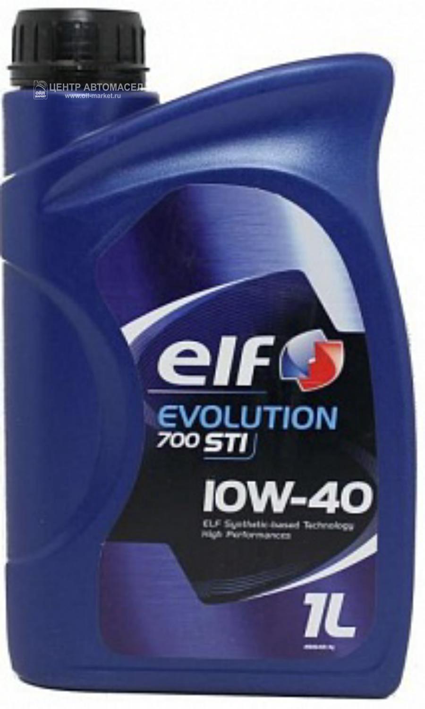 Масло моторное полусинтетическое Evolution 700 STI 10W-40, 1л