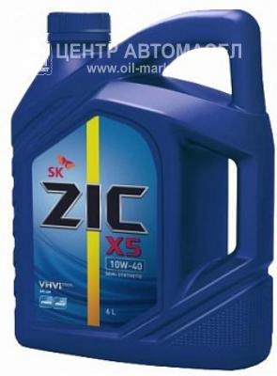 Масло моторное полусинтетическое X5 10W-40, 6л