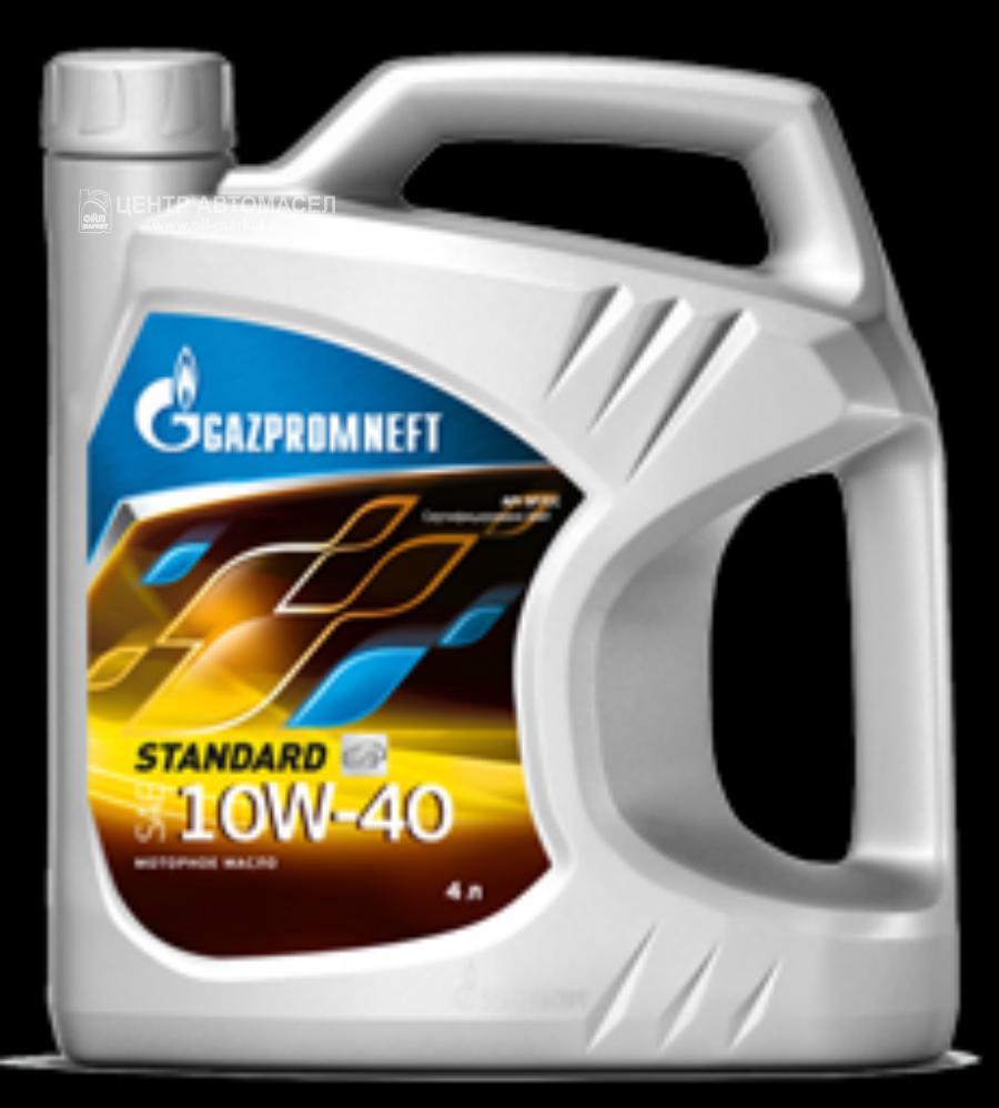 Масло моторное минеральное STANDARD 10W-40, 4л