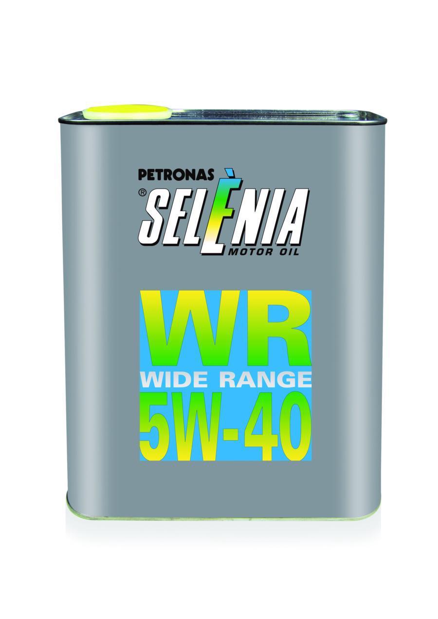 Масло моторное синтетическое WR 5W-40, 2л