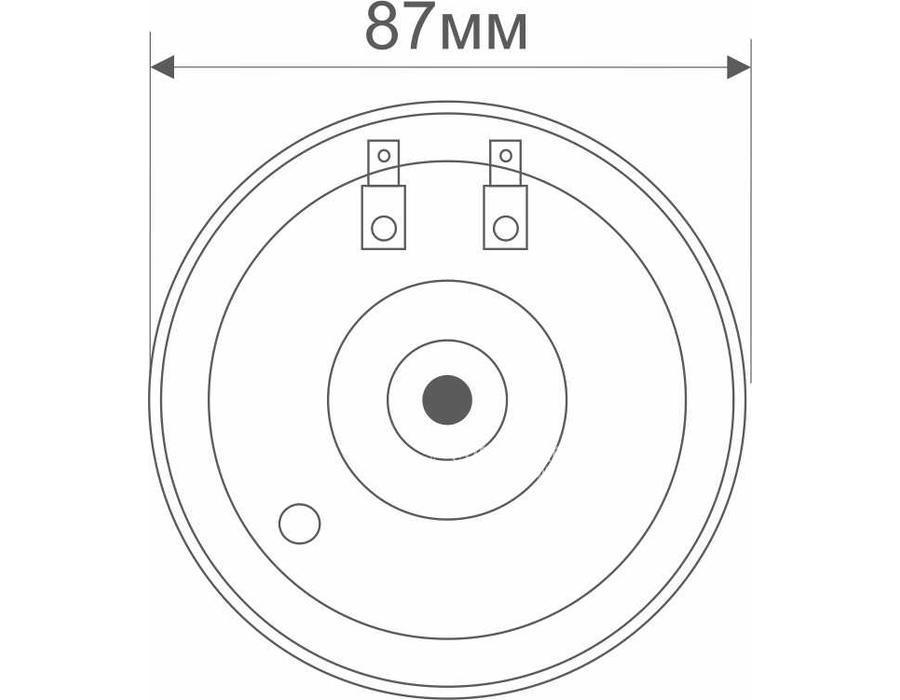 Звуковые сигналы 0450011000 с универсальным разъемом 400+500Hz