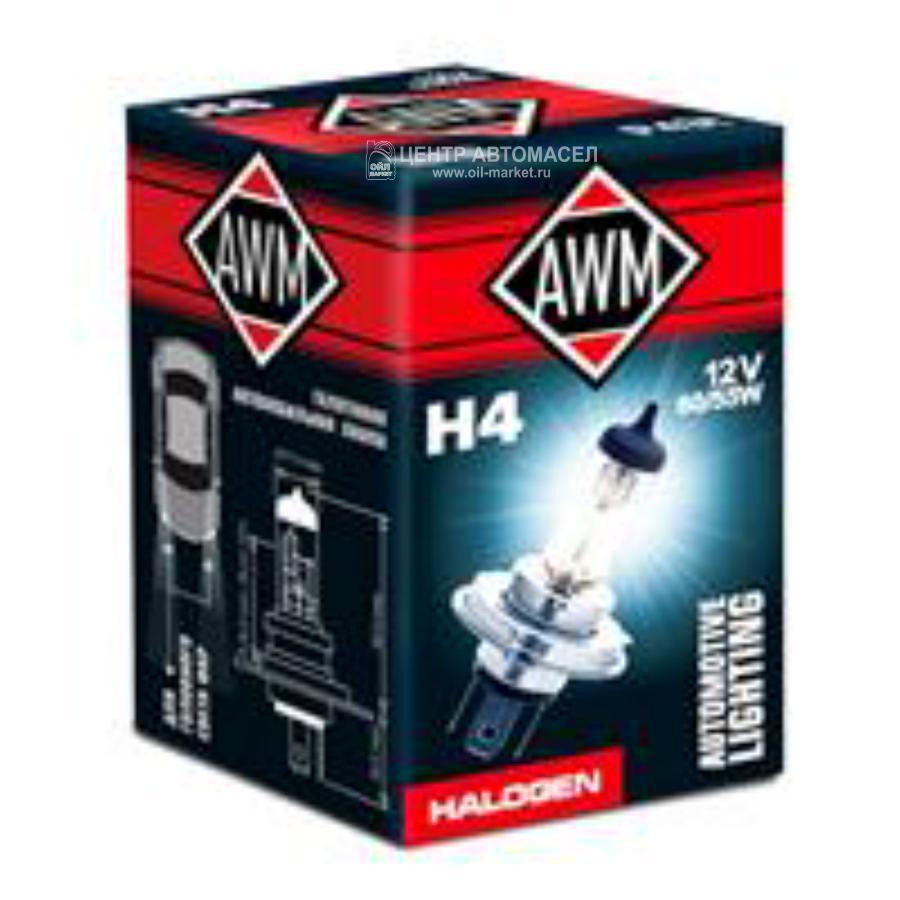 Лампа галоген H4 12В 60/55Вт