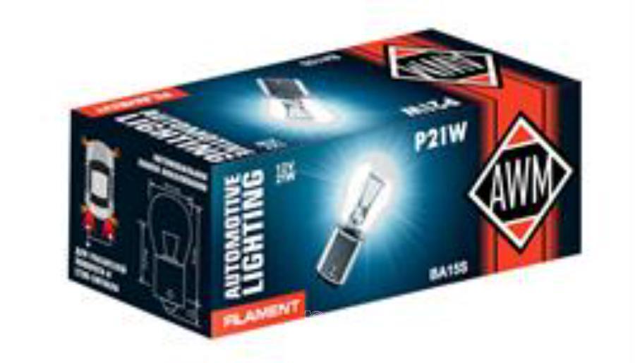 Лампа накаливания P21W 12В 21Вт