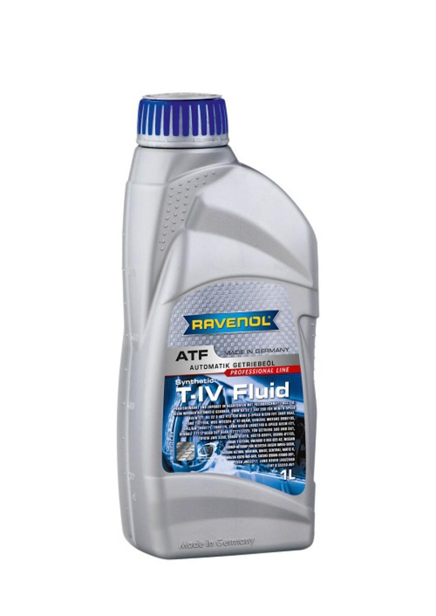 Трансмиссионное масло ravenol atf t-iv fluid ( 1л) new