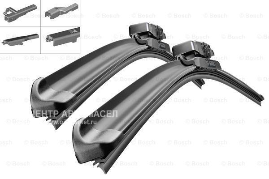 Комплект щеток стеклоочистителя аэротвин multi-clip 530мм/450мм