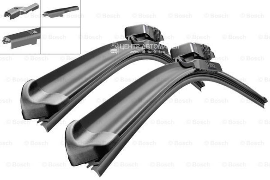 Комплект щеток стеклоочистителя ATW Multi-Clip 650мм/380мм