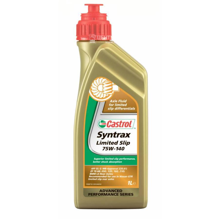 Масло трансмиссионное синтетическое Syntrax Limited Slip 75W-140, 1л