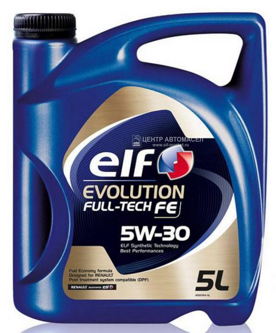 Масло моторное синтетическое Evolution Full-Tech FE 5W-30, 5л