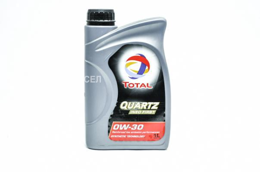 Масло моторное синтетическое Quartz Ineo First 0W-30, 1л