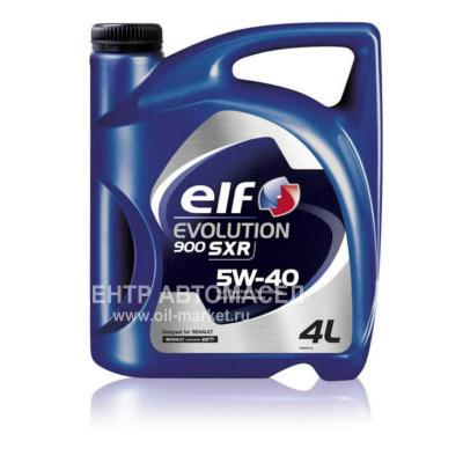 Масло моторное синтетическое Evolution 900 SXR 5W-40, 4л