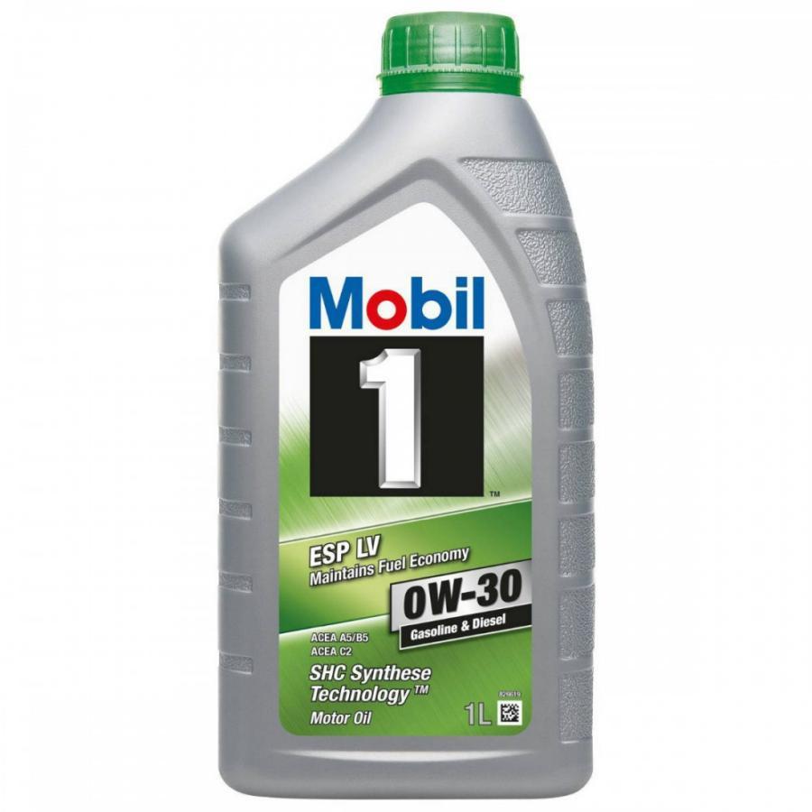 Масло моторное синтетическое Mobil 1 ESP LV 0W-30, 1л