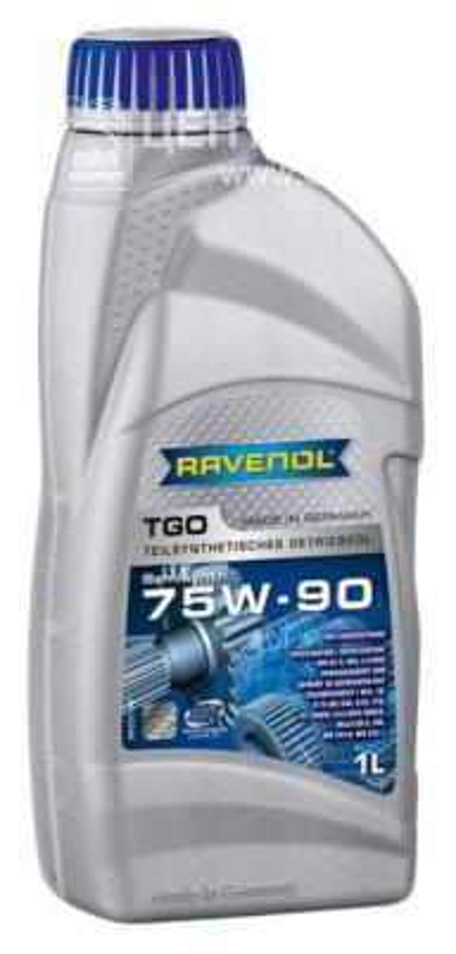 Трансмиссионное масло ravenol tgo sae 75w-90 gl-5 ( 1л) new