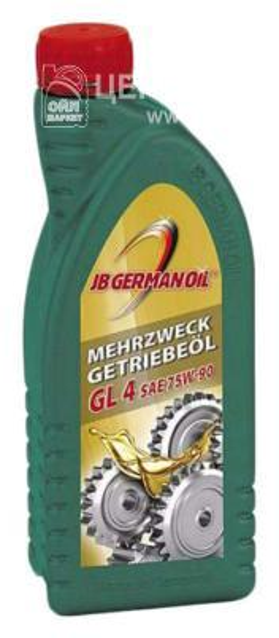 Масло трансмиссионное полусинтетическое GL-4 75W-90, 1л