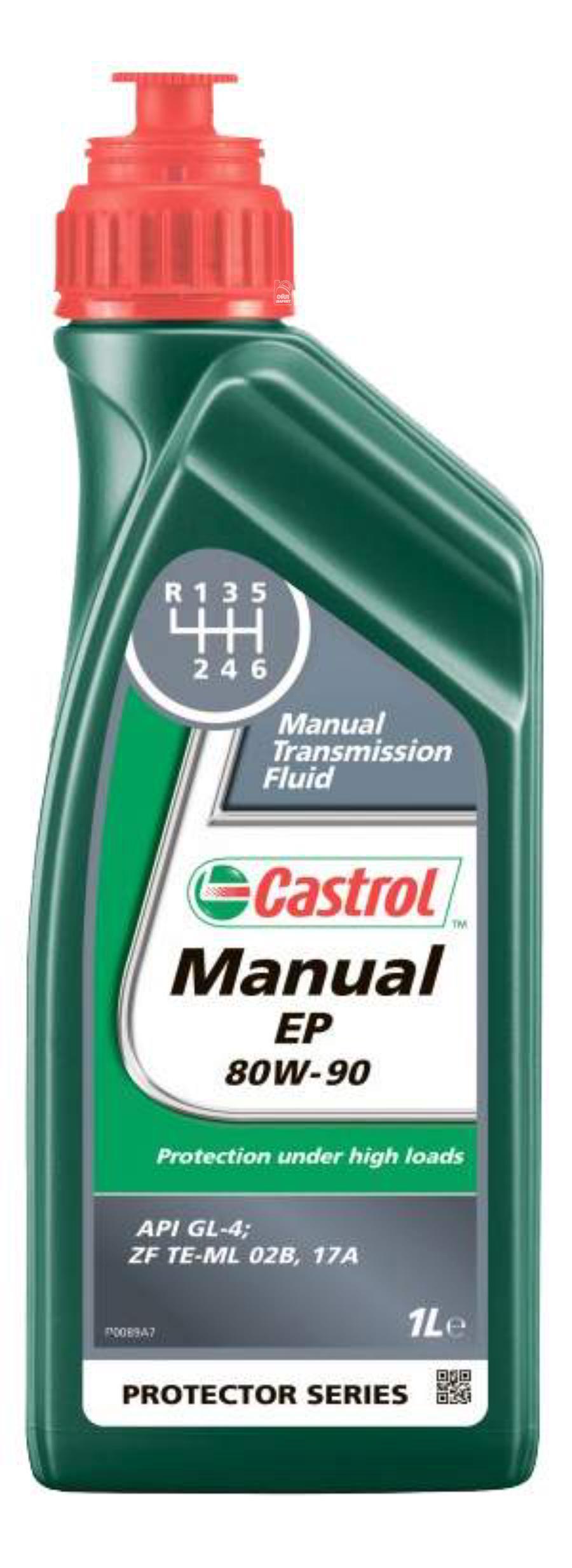 Масло трансмиссионное минеральное Manual EP 80W-90, 1л