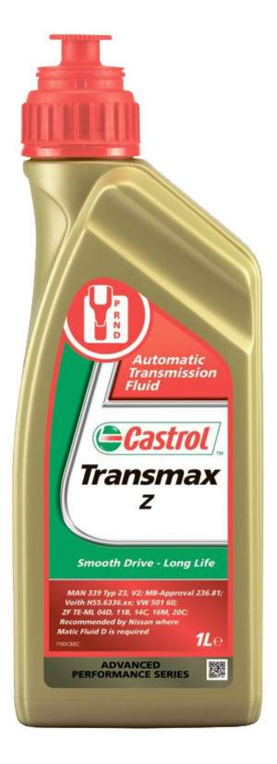 Масло трансмиссионное синтетическое Transmax Z, 1л