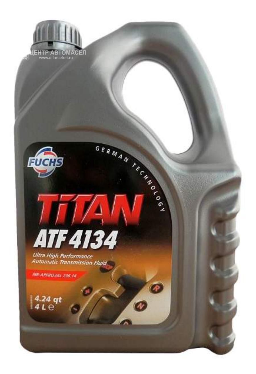 Масло трансмиссионное синтетическое TITAN ATF 4134, 4л