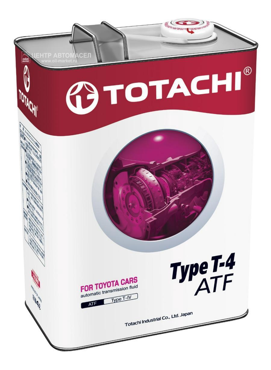 Масло трансмиссионное ATF Type T-IV, 4л