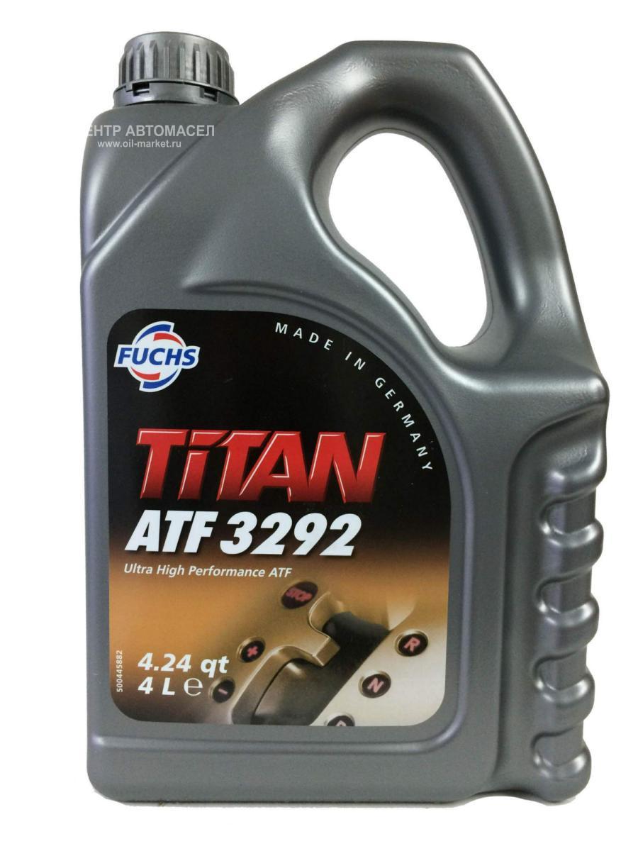 Масло трансмиссионное синтетическое TITAN ATF 3292, 4л