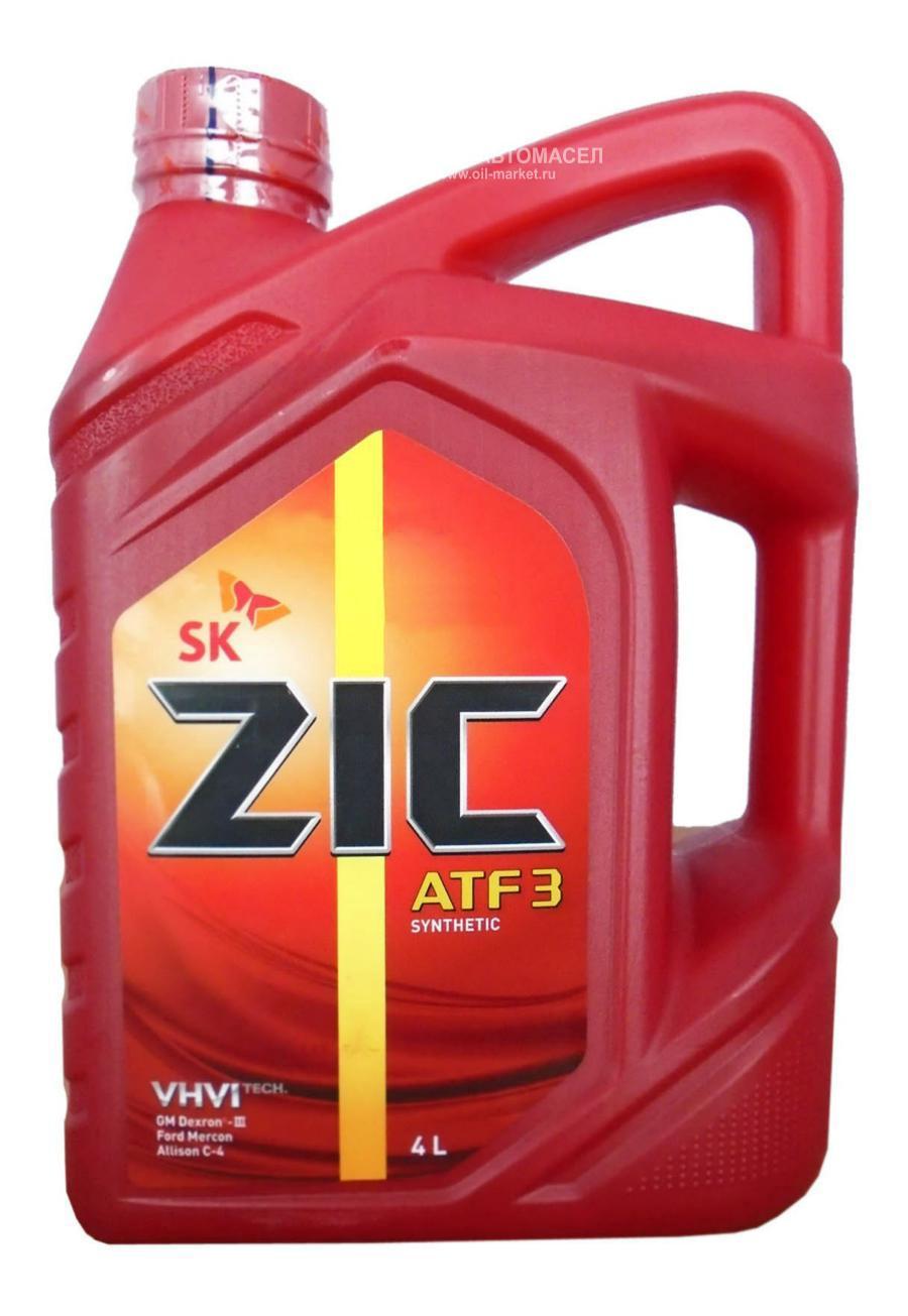 Масло трансмиссионное синтетическое ATF 3, 4л