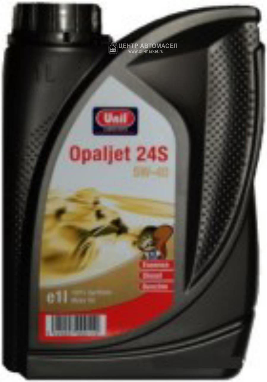 Масло моторное синтетическое Opaljet 24S 5W-40, 1л