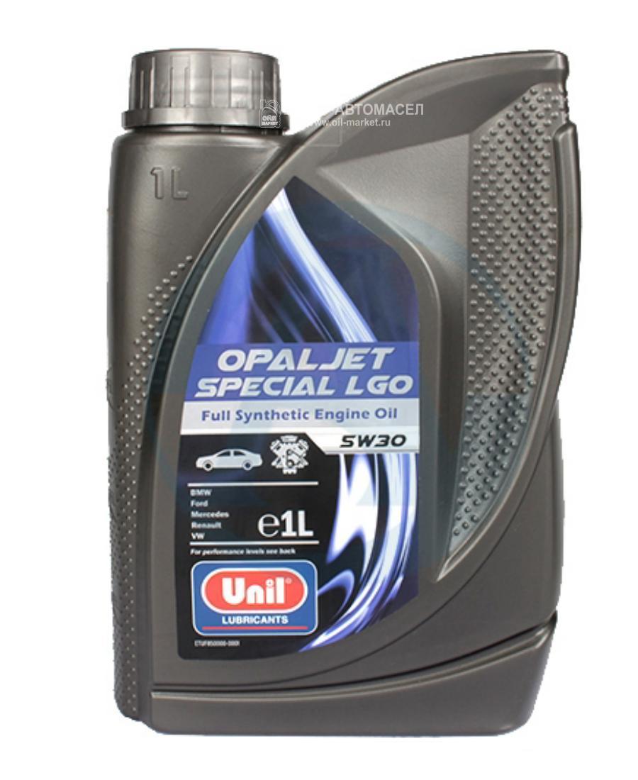 Масло моторное синтетическое Opaljet Special LGO 5W-30, 1л