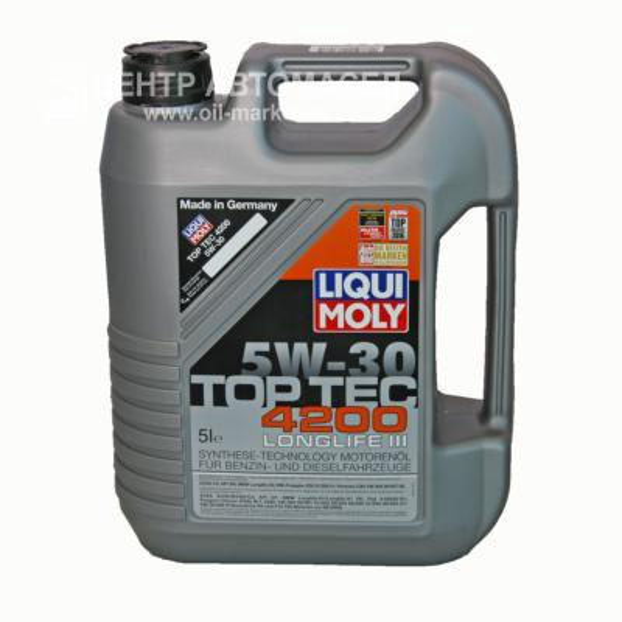 Liquimoly 5w30 Top Tec 4200 (4l)_Моторное маслоСин Фонарь В Подacea A3-04/B4-04/C3-04:Vw,