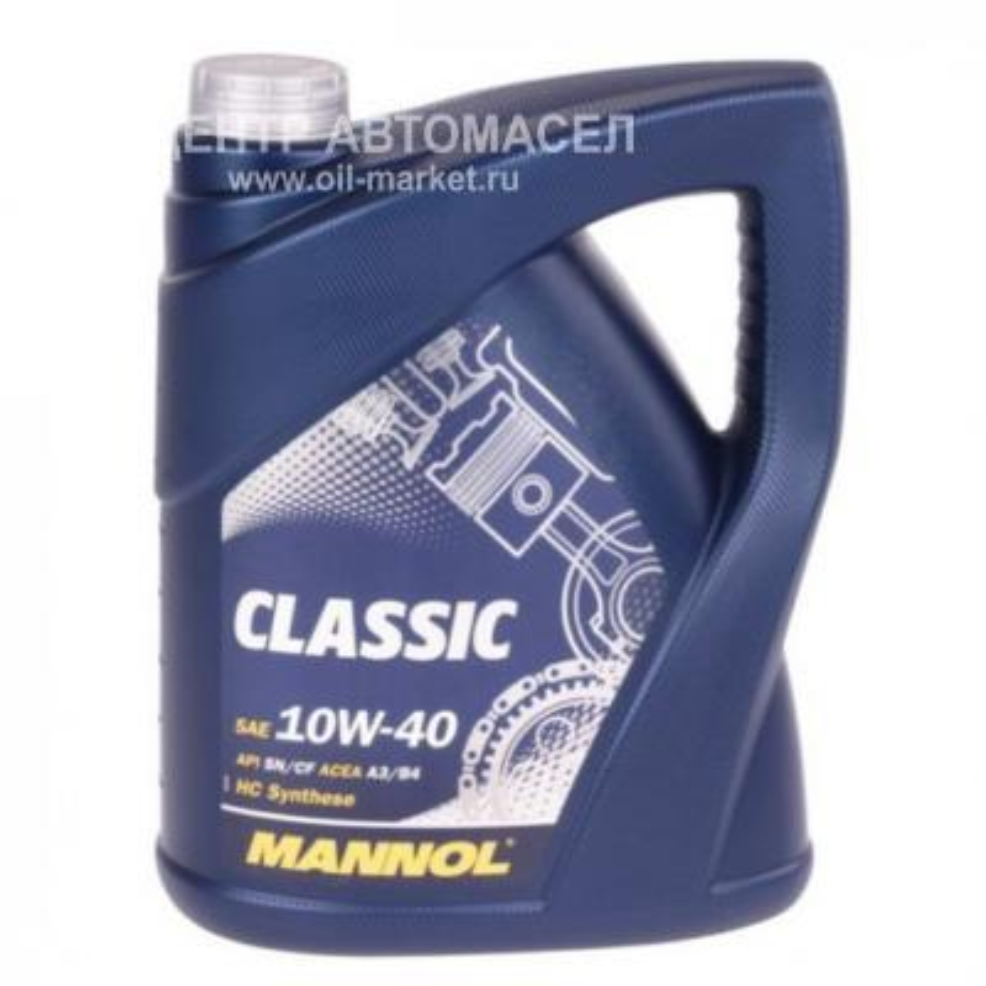 Масло  Classic 10W-40 API SN/SM/CF 7L (MN7501-7)