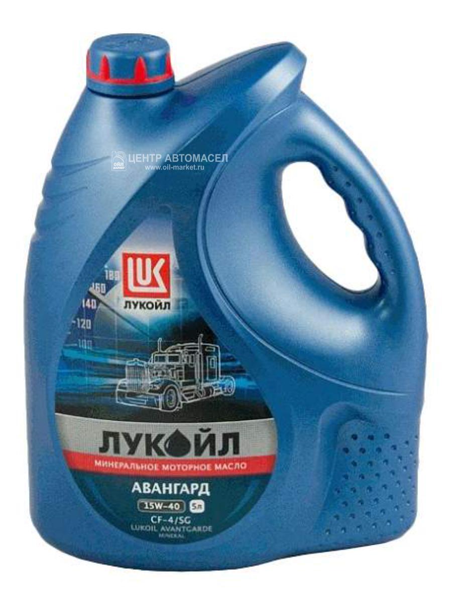 Масло моторное минеральное Авангард 15W-40, 5л