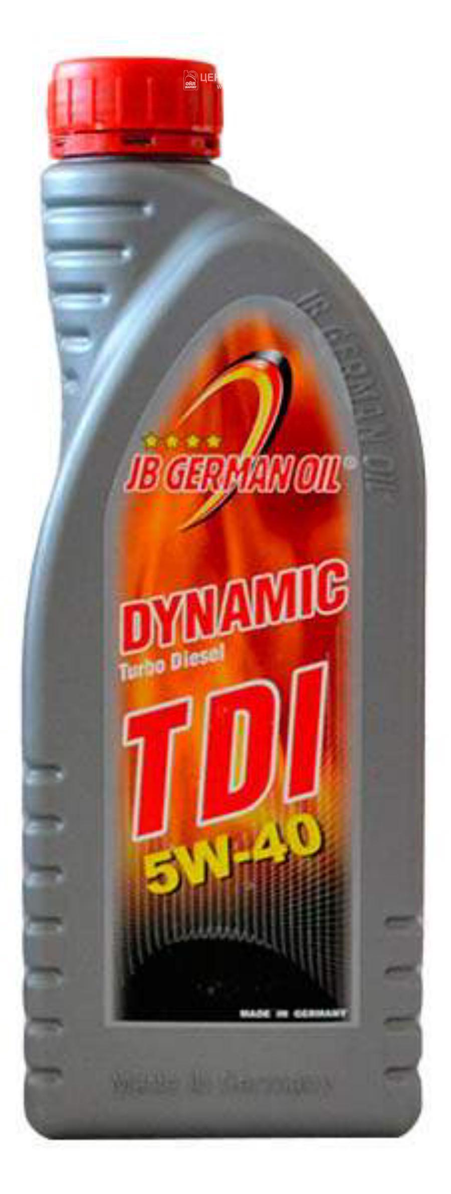 Масло моторное синтетическое DYNAMIC TDI 5W-40, 1л