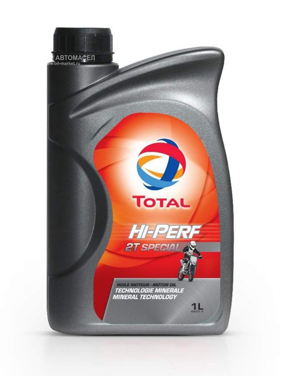 Двухтактное масло моторное минеральное ТОТАЛ Special 2T (для 2х-тактных) 1л