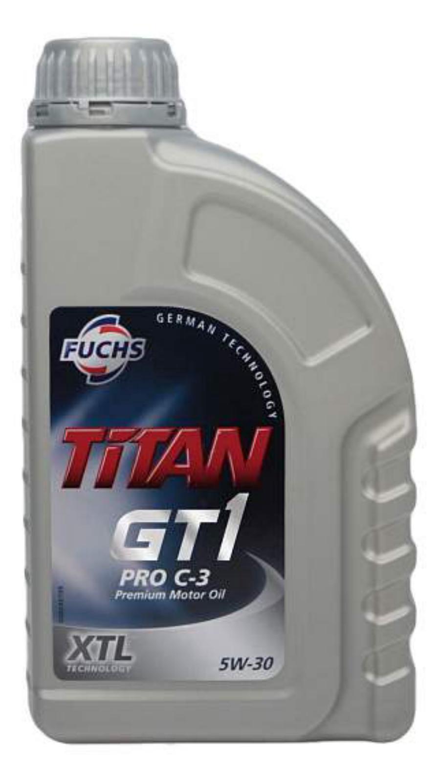 Масло моторное синтетическое TITAN GT1 PRO C-3 5W-30, 1л